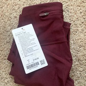 BRAND NEW Lululemon Zoned In Tight size 4